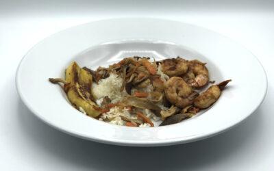 Stir Fried Oyster Mushrooms